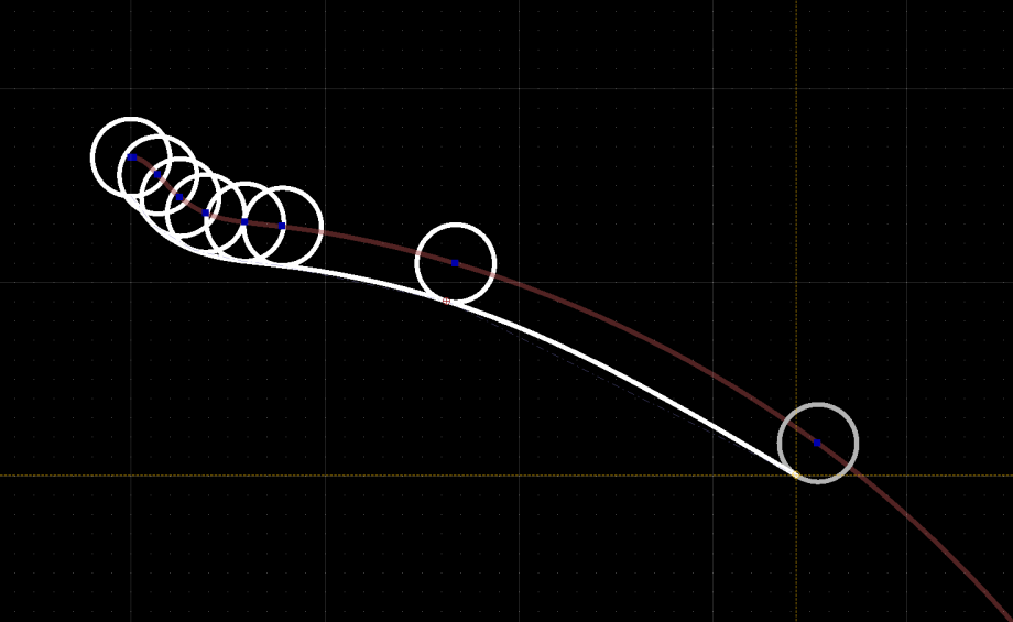 qcad-parallels to splines2