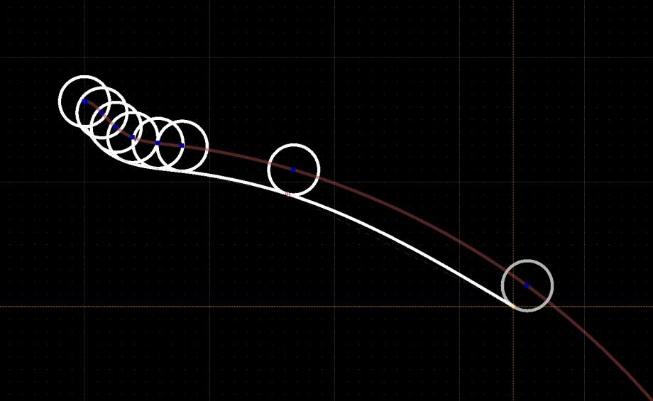 qcad-parallels to splines2