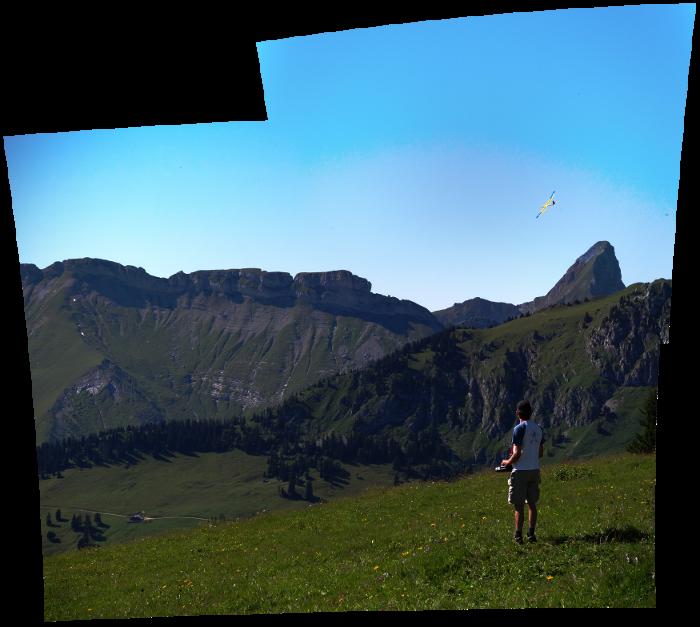 Der Haifisch vor den Gastlosen, Berner Oberland